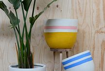 Pop & Scott Pots / Beach House Pot Range / Pop & Scott Beach House Pot Range was inspired by and for the dream holiday home by the sea.   Styled by Poppy Lane, Photography by Bobby + Tide and Jessica Tremp