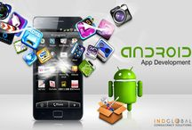 android mobile application, mobile poratable website designs / Our mobile app design team takes time to know your demand and incorporate it with their plan and skill towards delivering the most effective mobile development services.
