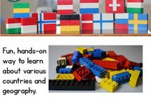 Unit Study: Legos / Ideas for a Unit Study based on and using Lego bricks #homeschool #teaching #legos