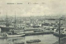 Kristiania-Vintage Old photos-Postcard-Kristiania Norway-Postkort Kristiania Norge