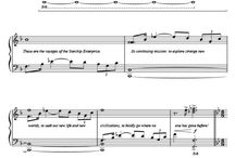 Guitar song tablature, chords and sheet music