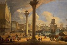 Venetian painter: Carlevarijs / Luca Carlevarijs (Udine, 1663 - Venice, 1730) was an Italian painter. He was influenced by Gaspar van Wittel and is considered the precursor of Canaletto and other Venetian painters.