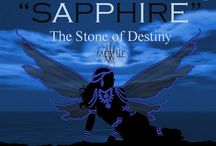 """September Birthstone"" Sapphire-The Stone of Destiny: By Mettlle Designer Handmade Jewelry / http://stores.ebay.com/mettlle"