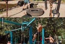 Fitness rund um die Welt / Verschiedene Eindrücke von der ganzen Welt