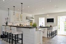 Kitchen island and breakfast bar ideas