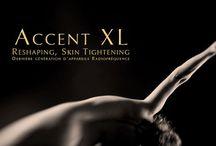 Accent XL / Centre High-Tech remodelage de la silhouette et traitements anti-âge.  6 rue Jean Goujon, 75008 Paris.  Ruth NIDDAM - 0033 (0)1 74 30 90 76