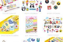 Popsicles & Pandas Collection