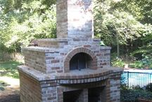 Wood fired brick oven / DIY recycled wood fired  brick oven
