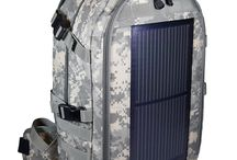 Eclipse Solar Backpacks / A selection of solar backpacks made by Eclipse Solar Gear designed to charge your mobile electronics.  Made in the USA!