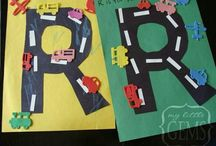Alphabet - letter R