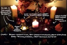Autumn Equinox (Mabon) Altars / www.PurpleCrystalWitch.Etsy.com