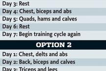 Treinamentos e dietas