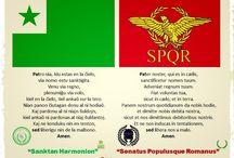 Esperanto / Esperanto, el único idioma neutral e internacional que pertenece a toda la humanidad en igualdad.
