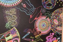 Výtvarná výchova - vesmír