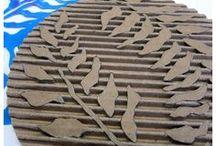 artesanato papelão ondulado