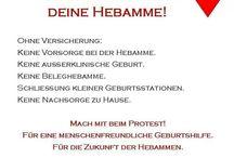 ♥ Rettet unsere Hebammen!! ♥