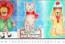 London Art College : Seasonal Artwork! / Artwork from our students that is seasonal - ie Christmas, Easter, Halloween etc along with other collections of artwork from around the world both new and old.