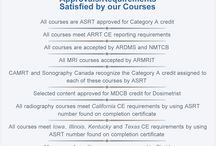 ERADIMAGING Courses offers the following: / Requirements and Approvals