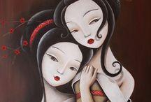 Mujeres orientales