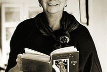 """Madeleine L'Engle / """"You have to write the book that wants to be written. And if the book will be too difficult for grown-ups, then you write it for children.""""  ― Madeleine L'Engle"""