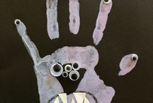 Halloween decorations and crafts