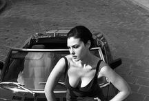 Modelos/famosas con coches