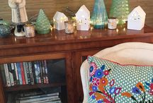Seaglass Beach Collection / Take the chill off winter with seaglass-inspired holiday décor. You don't need to live near the beach to love this collection!