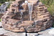 Backyard Fountains / The sound of water, makes a garden so much more complete and delights the senses. Here's a fun collection of backyard fountains... which one do you like? / by Plant Care Today