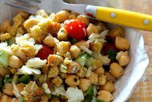 Saladas vegan