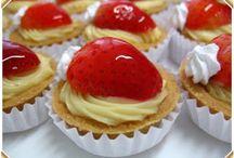 Doces e Sobremesas / sobremesas, pães, bolos