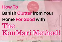 KonMari Method / Everything you need to know about the KonMari Method of tidying, or decluttering, and organizing your home, based on the The Life-Changing Magic of Tidying Up by Marie Kondo! #konmari #lifechangingmagicoftidyingup #sparkjoy #declutter #minimalism #decluttering #simplify #organization #organizedhome #homeorganization