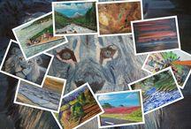 Schilderijen Hobbykunstschilder / Diverse schilderijen Hobbykunstschilder