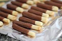 palitos de CHOCOLATE