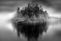 Amazing Black and White Landscape Photography / Black and white landscape photography