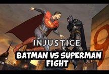 Batman VS Superman Fight | No Justice