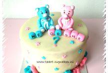 Geboorte taart / birth cake