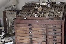 Cassetto tipografia