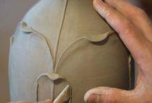 Nouveau arts and crafts process technique