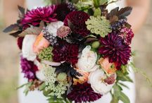 Marsala Wedding Flowers / Pantone Colour of the Year 2015 - Marsala - Wedding trends 2015