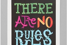 Inspiration: Rules / by suzewah