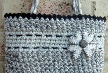 Crocheted bags!