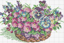 bloemen mandjes etc.