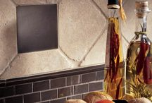 Backsplashes that make a splash / Subway tile backsplashes, mosaics and cool designs for Westchester County NY.  Natural stone, porcelain and ceramic backsplashes