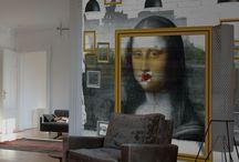 Les décors muraux de T.Cardel / Des décorations murales étonnantes réalisées sur papier peint pour des ambiances originales