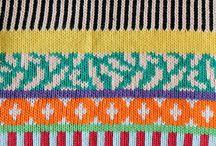 Knit Inspiration: Annie Larson Love the colors