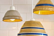 Decorating Ideas / Utilizing antique stoneware and pottery in your everyday life.