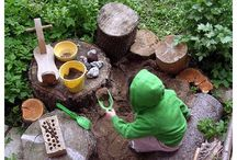 Outdoors / Ideas for things to do outside with kids and with our backyard.