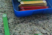 Preschool manipulatives