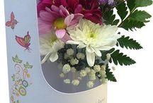 BIrthday flower cards