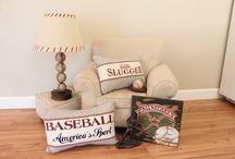 Baseball / Baseball crafts, baseball recipes, baseball decor, baseball gifts ... let's play ball!